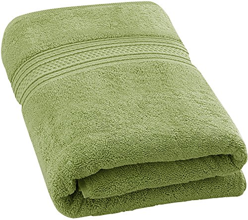 Utopia Towels 700 GSM Premium Cotton Extra Large Bath Towel (35 Inch by 70 Inch) Soft Luxury Bath Sheet, Sage Green