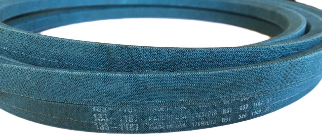 GENUINE OEM TORO V-BELT 133-1166 BLUE BELT