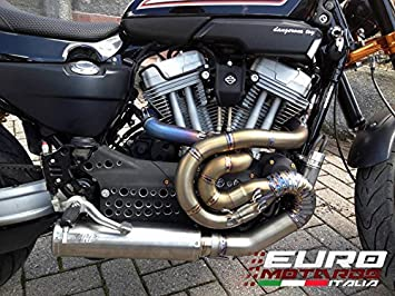 Harley Davidson XR 1200 Zard Exhaust Full Titanium System & Titanium Muffler
