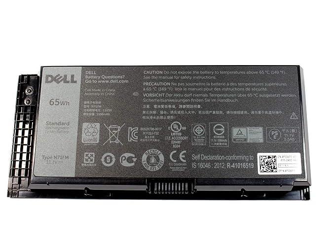 Amazon com: Dell OEM Genuine Battery 6R1V8 6 Cell 65 WHr
