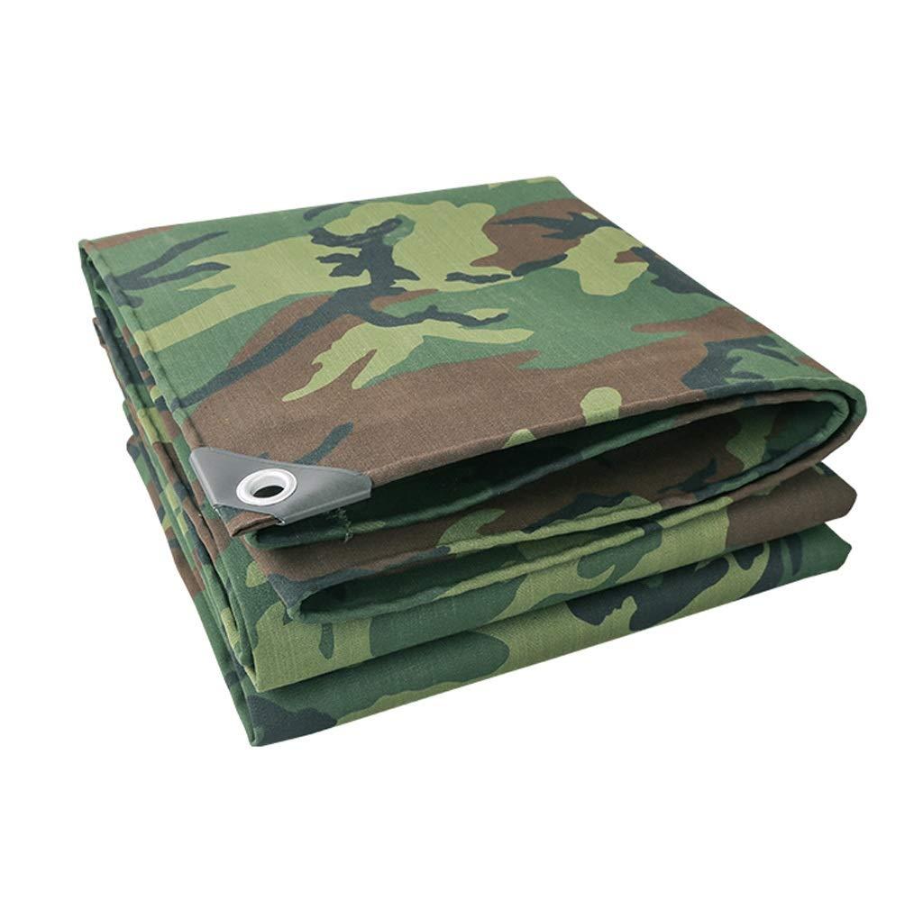 TongN-BÂches imperméable de bÂche de Toile de bÂche de Toile de bÂche de Toile de bÂche de Camouflage d'épaississement (Taille   5 x 6 m)  5 x 6 m