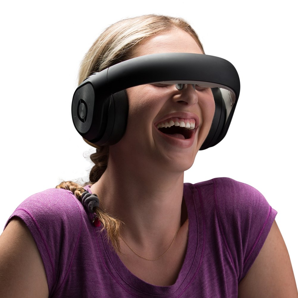 Avegant Glyph AG101 VR Headset (Free with Interchangeable Nose Pieces), Patented Retinal Imaging Technology MOPS 3D Virtual Glasses 360° Panoramic