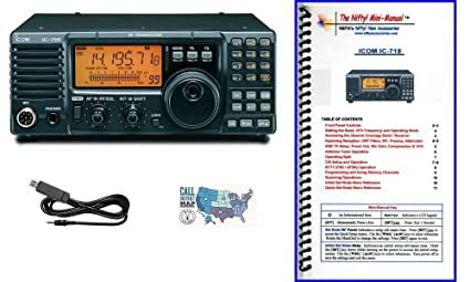 Amazon com: Icom IC-718 Radio and Accessory Bundle - 4 Items