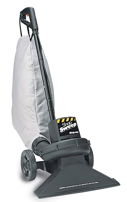 47e368083ce Shop-Vac 4050010 Shop Sweep Indoor Outdoor Vacuum with 8-Gallon Collection  Bag
