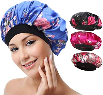 pack of two. Baby Silk Bonnet Cap