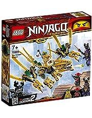 ليغو لعبة نينجاغو غولدن دراغون , لعمر 7 سنوات فاكثر - 70666