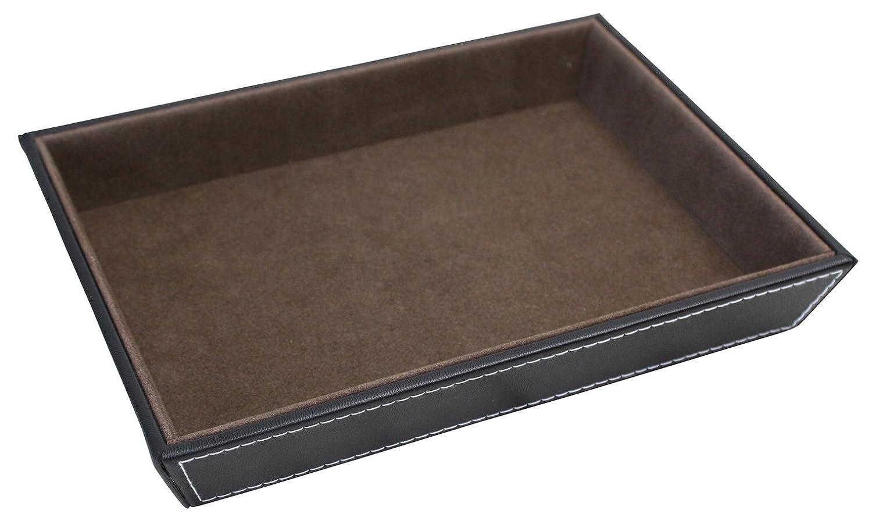 2696994adb Amazon|サンワ レザーA5トレイ 合成皮革 ブラック 6710-0251|トレイ・盆 オンライン通販