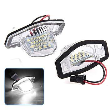 Ocamo Kit de Repuesto de luz LED para Placa de vehículo para Honda CRV, 2 Unidades por Juego: Amazon.es: Hogar