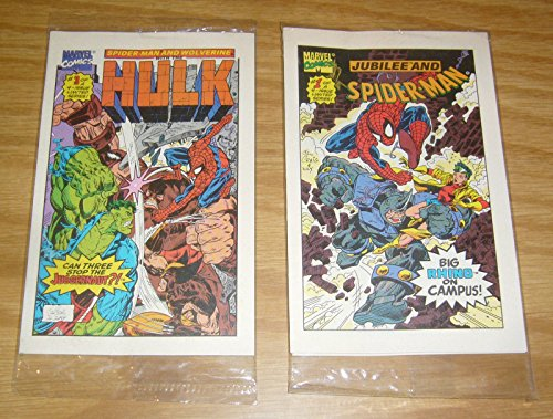 Marvel Drakes Cakes Comics #1-4 VF/NM complete series sealed ; Marvel (Hulk/Spider-Man/Wolverine/Silver Surfer)