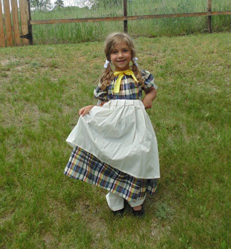 Girls 5-8 adjustable Pretty in Plaid by Fru Fru and Feathers Costumes & Gifts