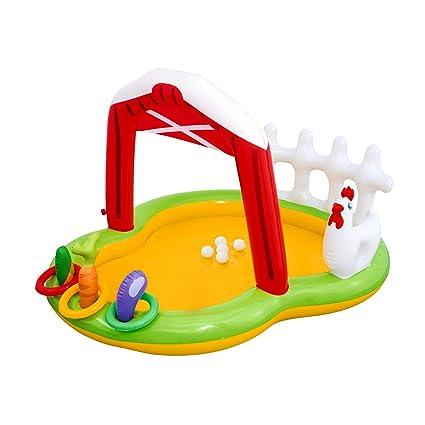 Amazon.com: Niños Piscina Inflable centro de juegos. Este ...