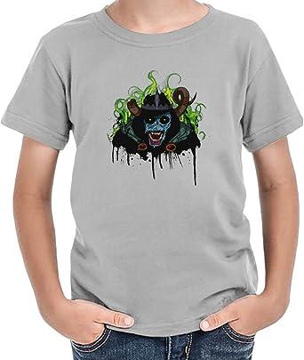 amazon the lich king ボーイズtシャツ 6 7 yrs tシャツ カットソー