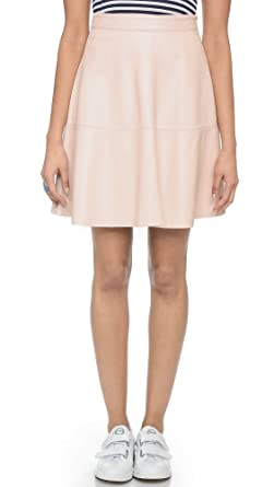 c9838044ee Amazon.com: Joie Women's Decollete Leather Skirt, Soft Sand, Medium ...