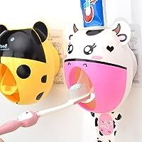 bebé niños creativos dibujos animados pasta de dientes