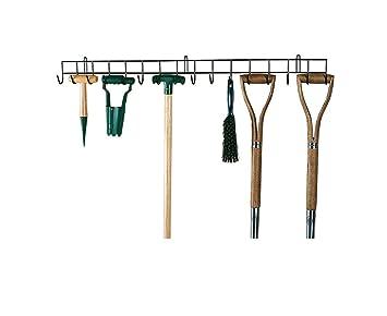 1 m de Long Range outils de jardin en métal Vert avec 16 crochets de ...