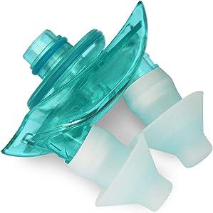 Navage Nasal Dock-Nose Pillow Combo: Teal Nasal Dock and Standard Nose Pillows