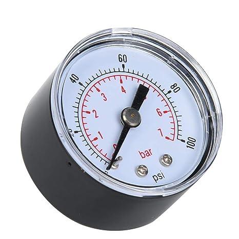 0-11BAR 0-160PSI Secteur Eau Test De Pression Jauge 482913