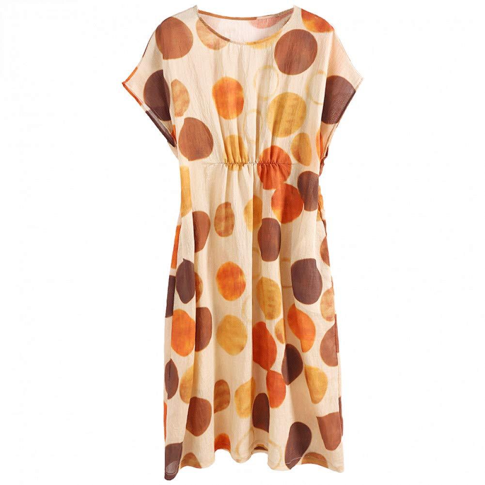L BINGQZ Silk dress female summer new women's ladies temperament long summer skirt women