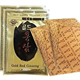 korean ginseng company - Korean Red Ginseng Patch Powerstrip Energy Pain Relief - 40 Patches