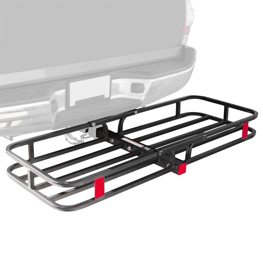 Apex Rage Powersports CC-1951 53' Hitched Mounted Steel Cargo Carrier Basket (with a 500 lb. Capacity)