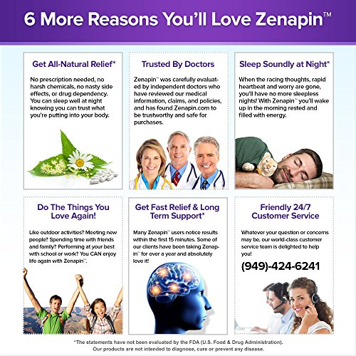 Zenapin: Top All-Natural Calming Supplement with SIX ...