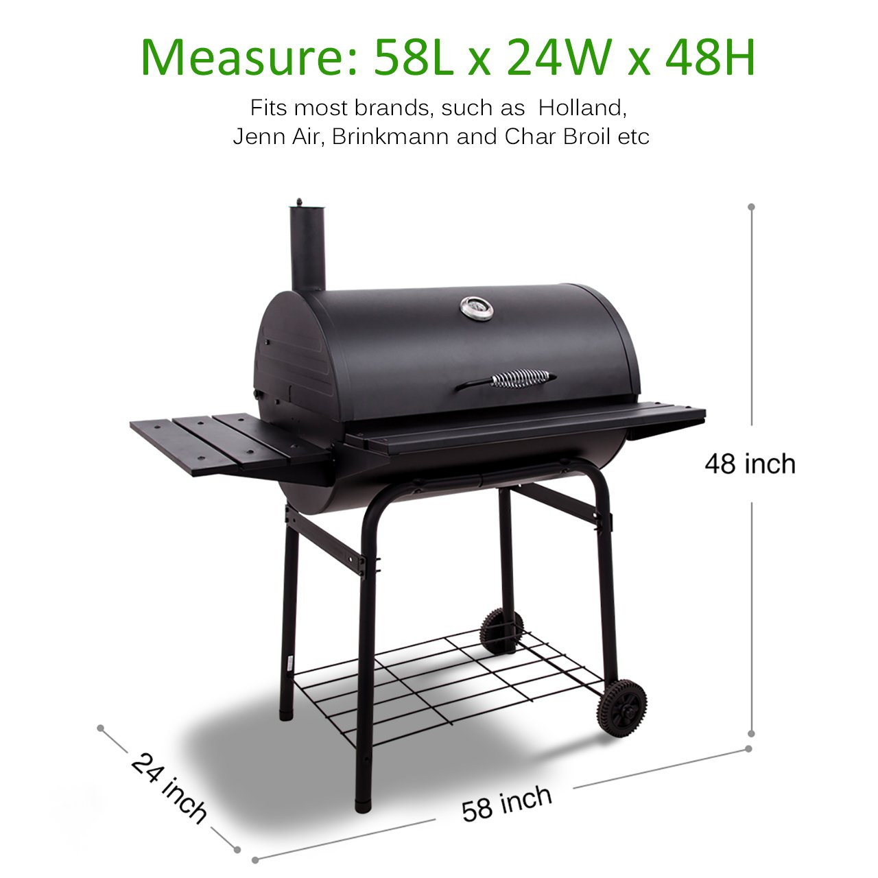 amazon com victsing gas grill cover heavy duty waterproof bbq
