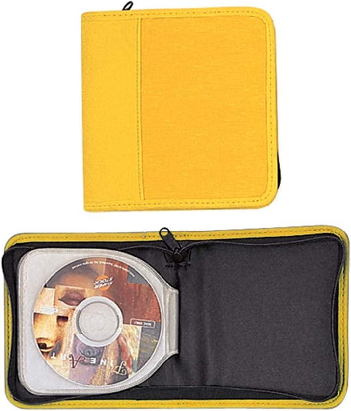 Porta CD da 20 posti Colore Giallo