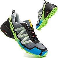 Zapatillas Trail Running Hombre Impermeables Zapatillas Trekking Hombre Zapatos de Senderismo Ligeras Deportivas Zapatos…