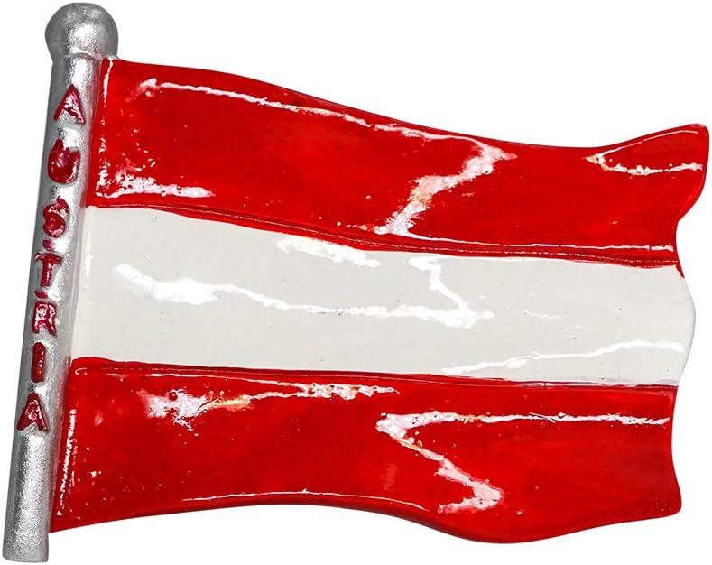 zamonji Bandera de Europa 3D Imán de Nevera Recuerdos Turísticos Hecho A Mano de Resina Artesanía Pegatinas Magnéticas Inicio Cocina Decoración (Austria): Amazon.es: Hogar
