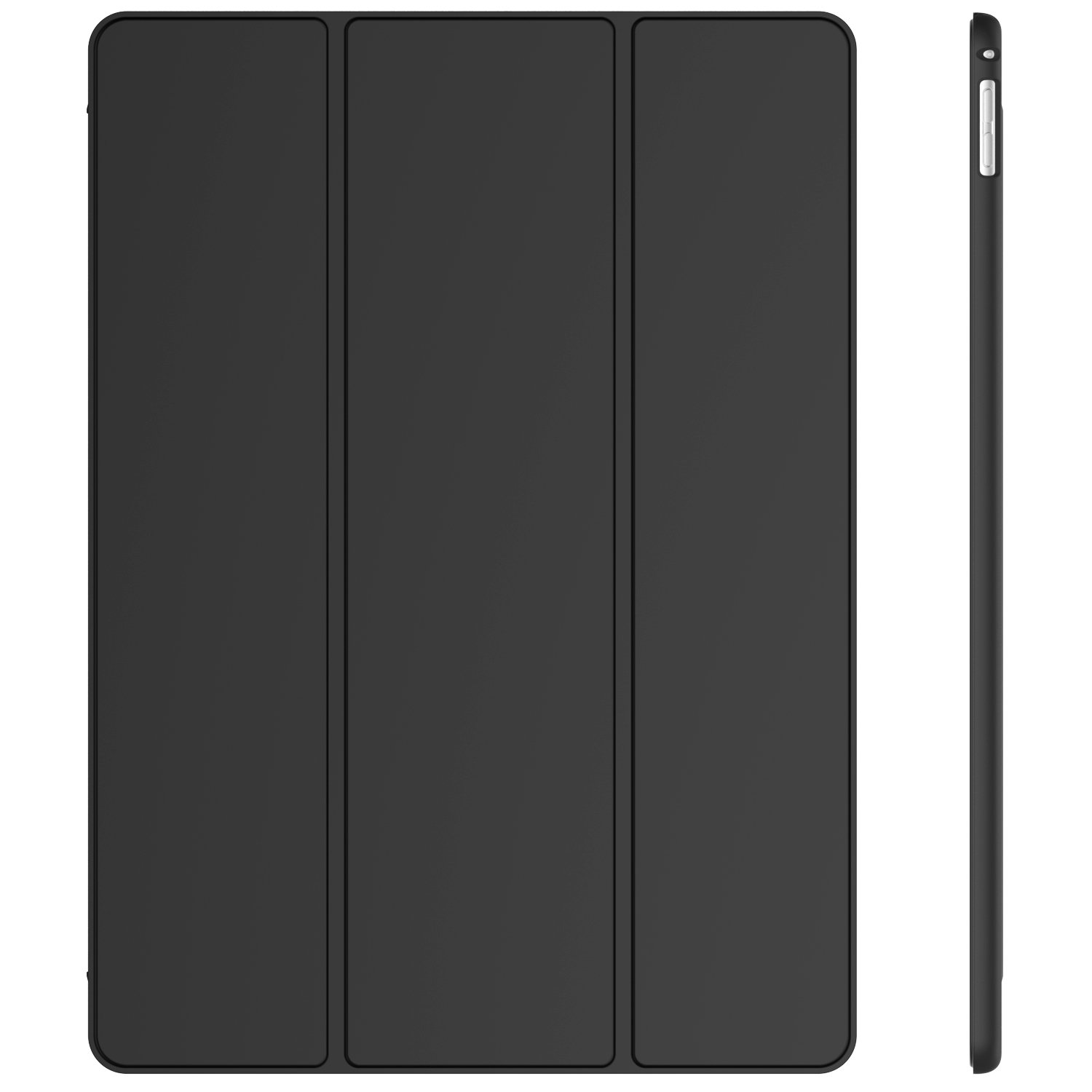 JETech Case for iPad Pro 12.9-Inch (2017 Model), Smart Cover with Auto Sleep/Wake, Black 3054-CS-NEW-iPad-Pro-12.9-BK