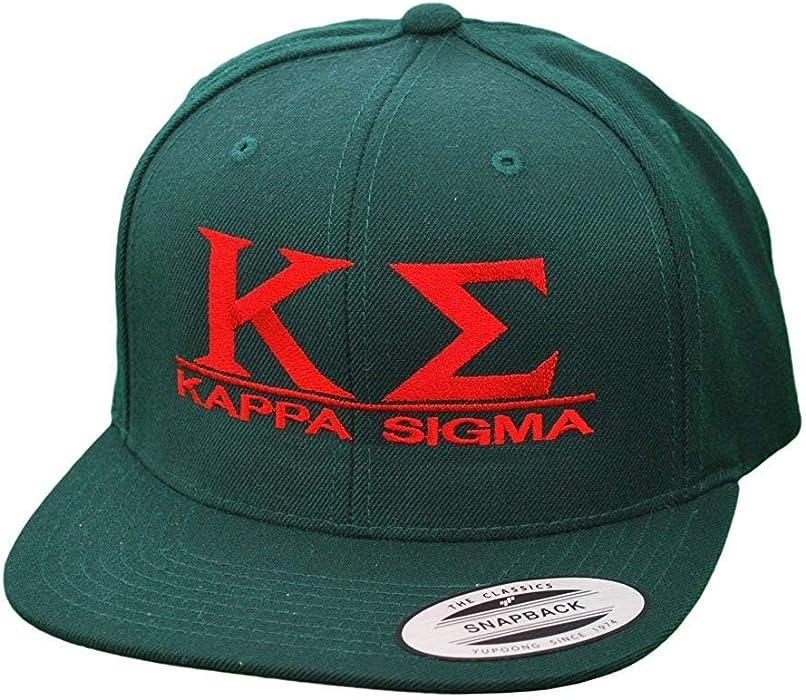 d5e21222b9f Greekgear Kappa Sigma Flatbill Snapback Hats Original Blue at Amazon ...