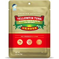 Genova Yellowfin Tuna Pouch, 2.6 Oz (Pack of 24)