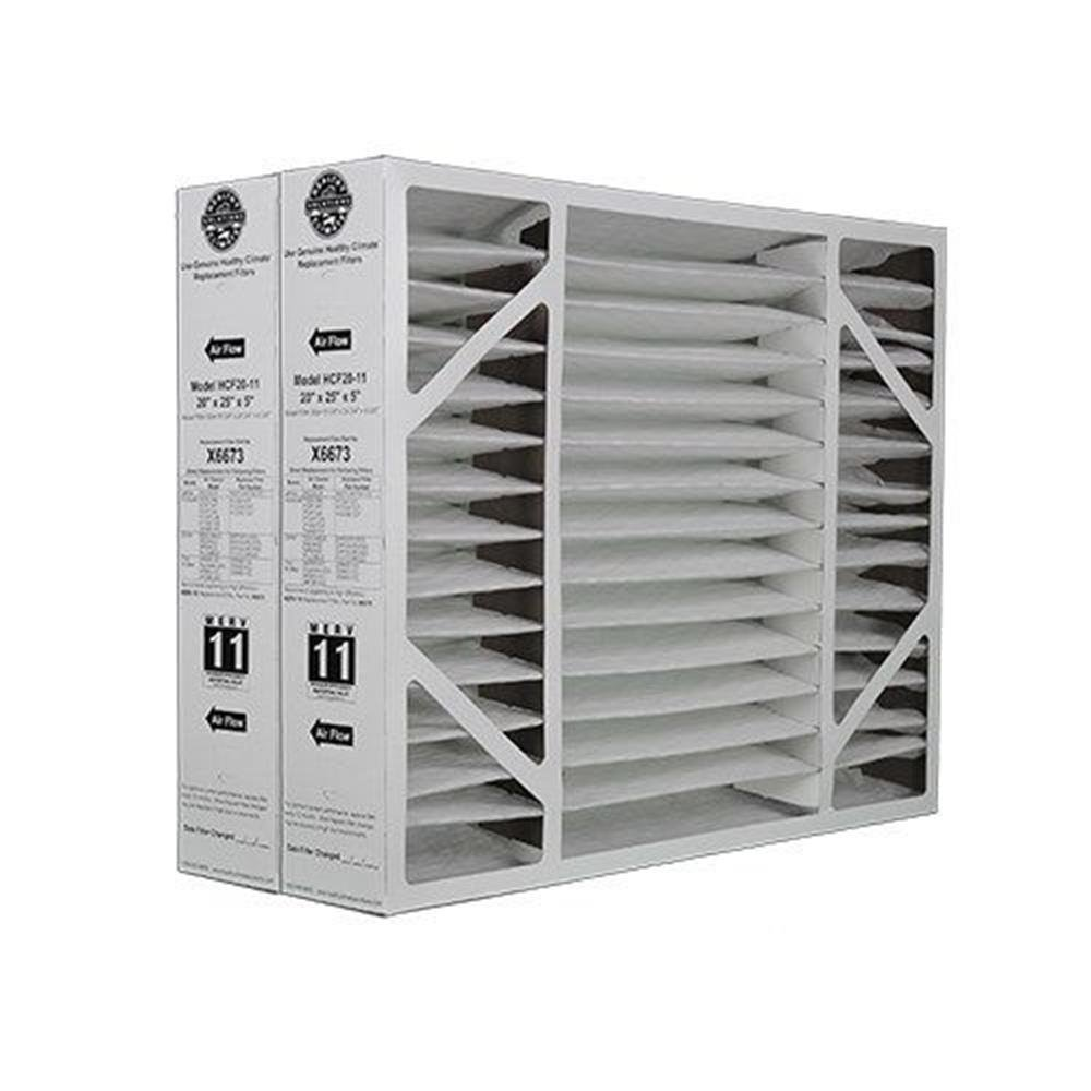 暖房、冷却& Air Lennox x6673 MERV 11フィルタメディア( 2パック) B01LWWQ71O