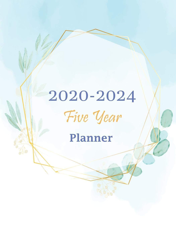 2020-2024 Five Year Planner: 60 Months Calendar 5 Year ...