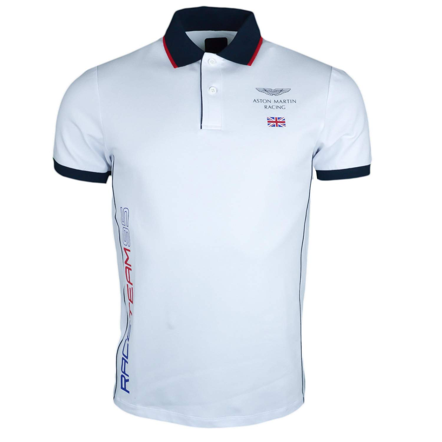 Polo Hackett Aston Martin Blanc Race Team 95 Slim Fit para Hombre ...