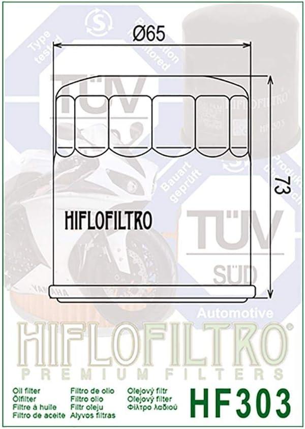 /Ölfilter Hiflo Schwarz VMX 1200 V-Max 2EN 96