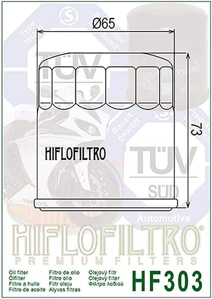/Ölfilter Hiflo Schwarz VT 750 C2 Ace Shadow RC44 97-02