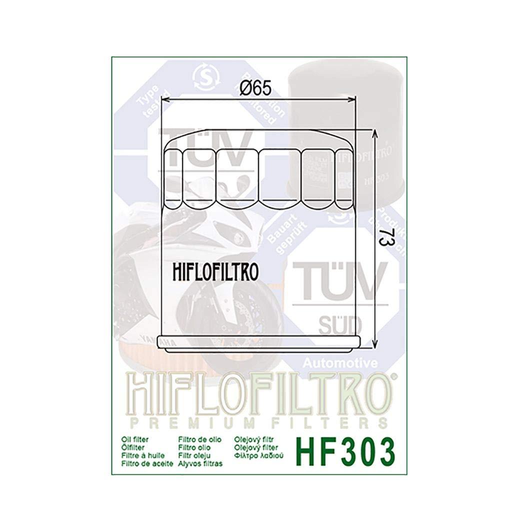 /Ölfilter Hiflo Schwarz FZR 600 4JH 94-95