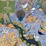 Birds and Flowers 2020 Wall Calendar