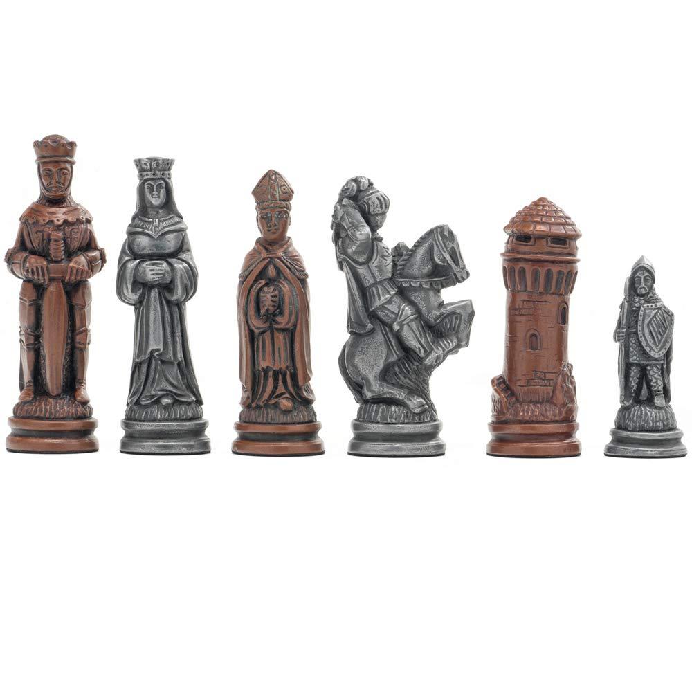 The Regency Chess Company Ltd Berkeley Schach Camelot Metallic Metallic Metallic Schach Männer ab8fc8