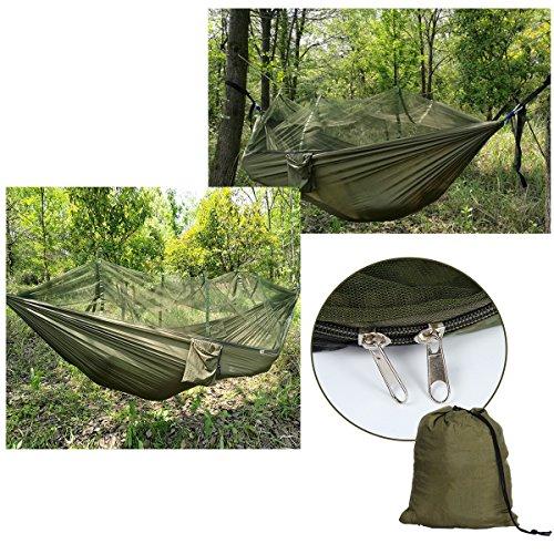 Latinaric Hamac Camping Avec Moustiquaire De Jardin Tente Portable ...