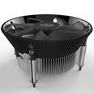 Cooler Master i70 CPU Cooler - 120mm Low Noise Cooling Fan & Heatsink (RR-I70-20PK-R1) - for Intel Socket LGA 1150/1151 / 1155/1156(i70)