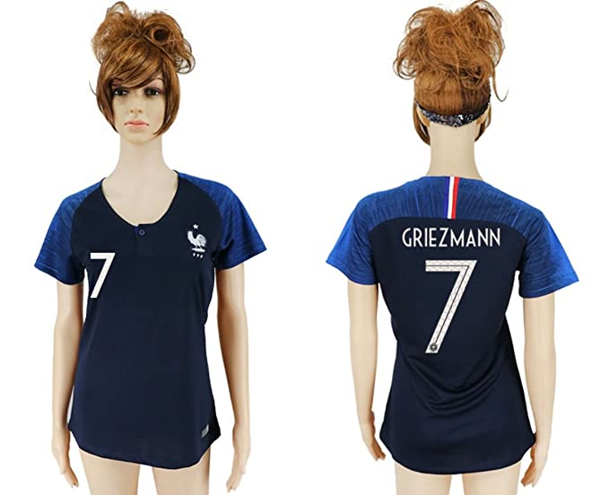 2018 Russia World Cup France Home Womens Soccer Jersey (L 617f9791f