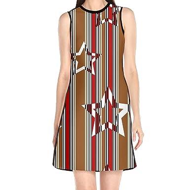 Hakalala Girl Dresses Sexy Dress Stripes Stars Spring Dresses