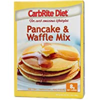 Doctor's CarbRite Diet Pancake & Waffle Baking Mix, Keto Friendly, Maltitol Free, Perfect for Carb Conscious Dieters, 14…