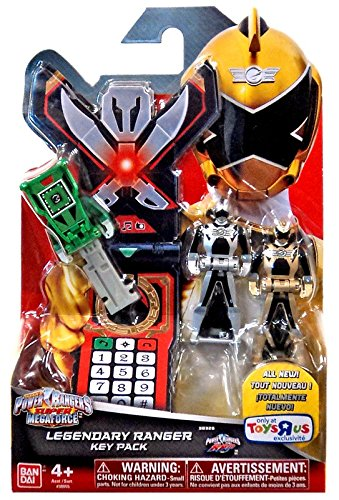 Power Rangers Super Megaforce Legendary Ranger Key Pack Roleplay Toy [RPM]