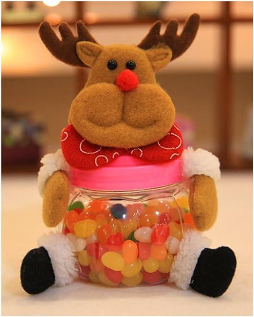 Christmas Santa Claus Snowman Elk Money Coins Saving Box Piggy Bank Kids Gift