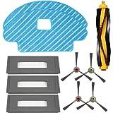 HKCH Parts for ECOVACS DEEBOT OZMO 930 Robotic Vacuum Cleaner-Sponge Filter & High Efficiency Filter Side Brush Main…