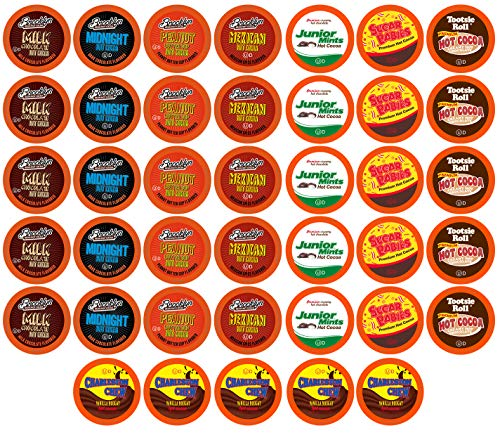 - BEST Of The BEST Hot Chocolate Pods for Keurig K Cup Brewers, Variety Pack, 40Count