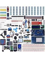 UNIROI Mega 2560 Kit con Tutorial, con Fiamma Sensore, 5 V Modulo Relè Scheda, Resistenza (Articolo 242) (UA003)
